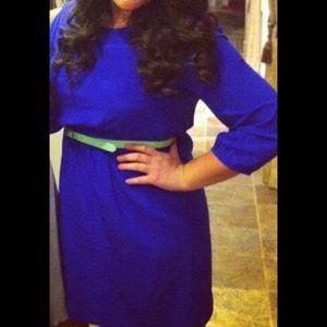 madewell/broadway & broome silk dress